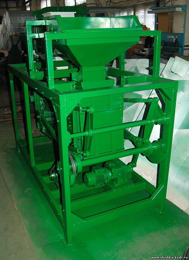 Оборудование по переработке кедровой шишки